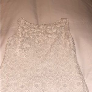 Muse White Lace Shift